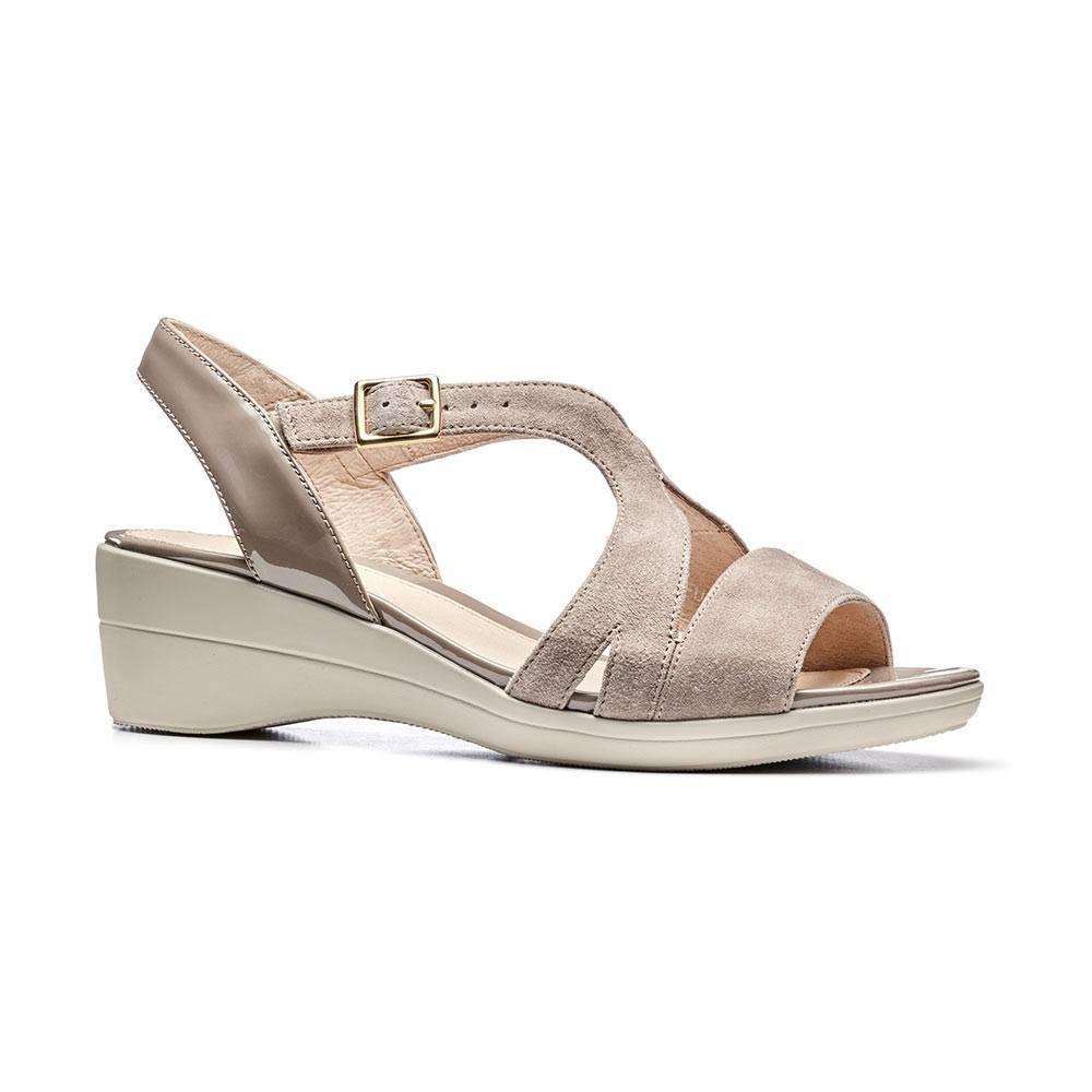 Sandalo Donna Stonefly in Pelle Beige - 108235