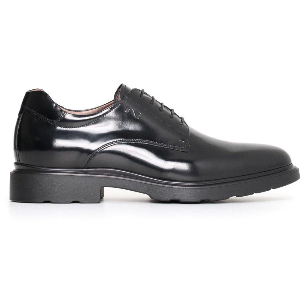 Scarpa elegante uomo nero giardini nera in pelle a705311u100 ebay - Ebay scarpe nero giardini ...