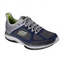 Scarpa-Skechers-Sneaker-Uomo-Grigia