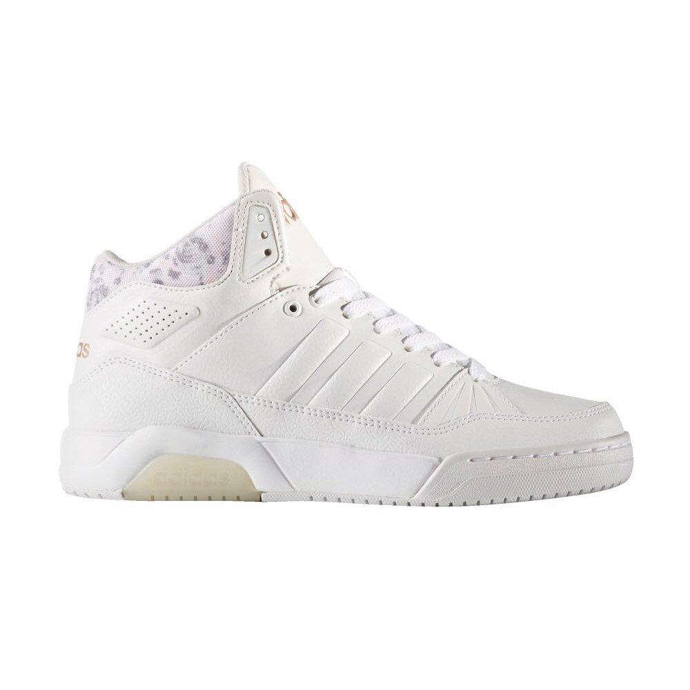 Sneaker Alta Donna Adidas Bianca in Tessuto - B74230000