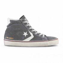 Sneaker Alta Uomo Converse Grigia Pro Leather Vulc Mid - 159025C