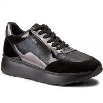 Sneaker Bassa Donna Geox Nera - D745TB 0QDHH C9999