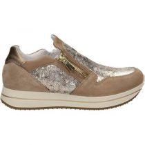 Sneaker-Donna-Alta-con-Zip-Scamosciate-Beige-7773900---Igi&Co