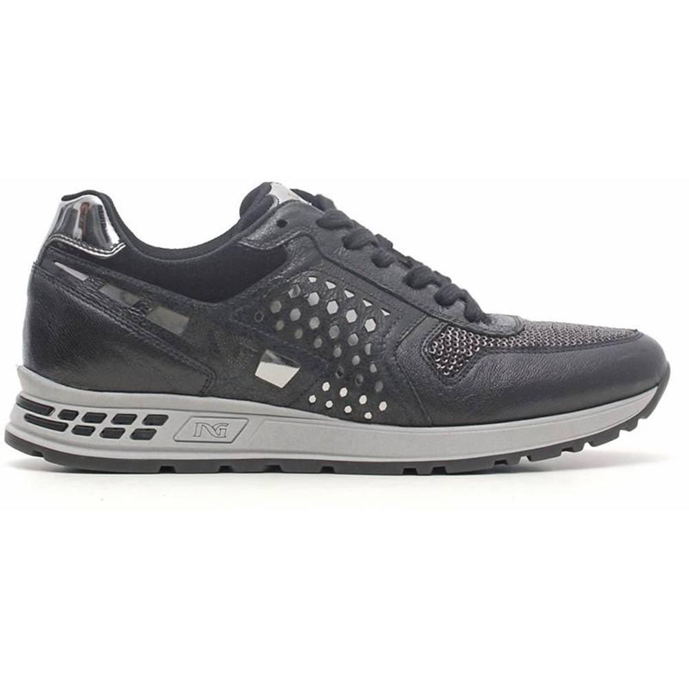 Sneaker-Donna-Nera-A616182D-100-Nero-Giardini