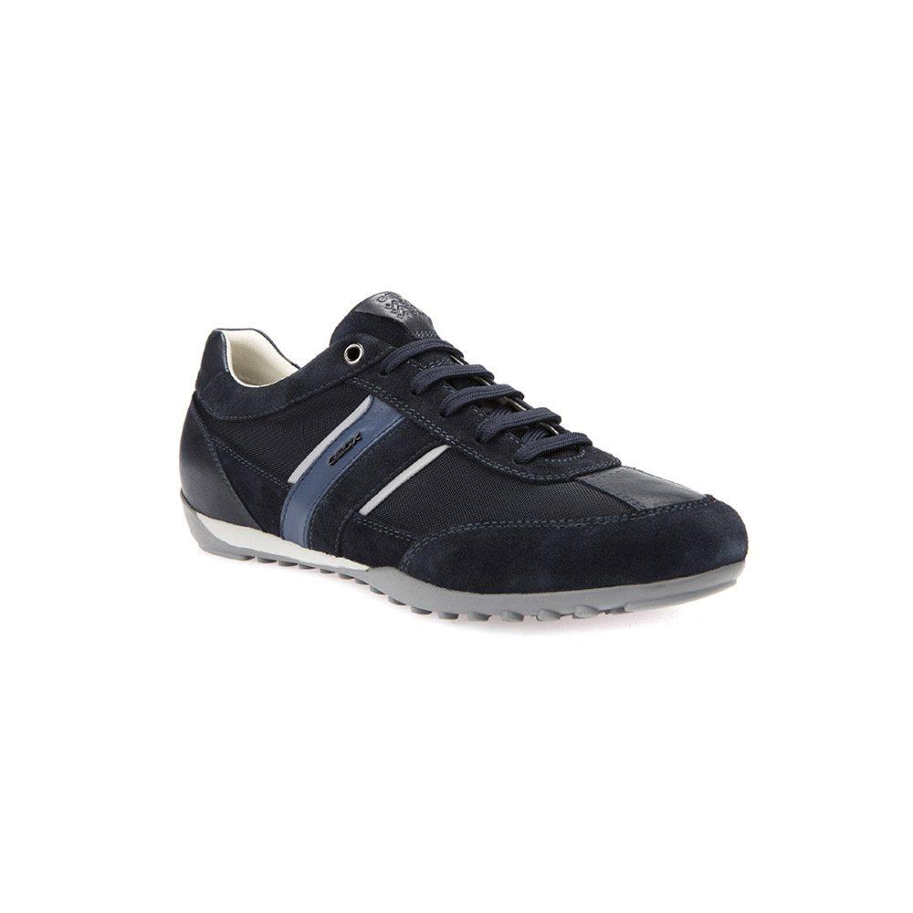 d09c32e71bed Sneaker Geox Uomo Bassa Blu
