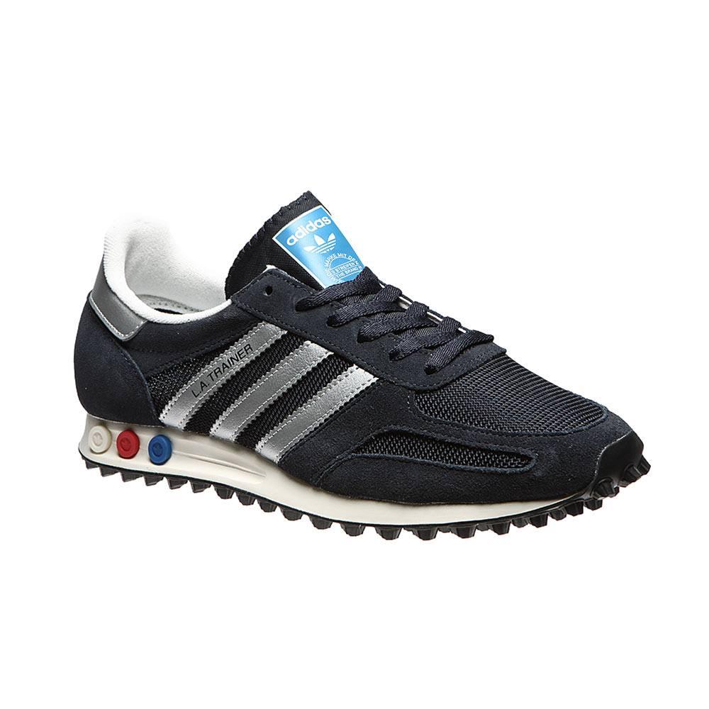 Sneaker Uomo Adidas Blu in Tessuto - BY9323