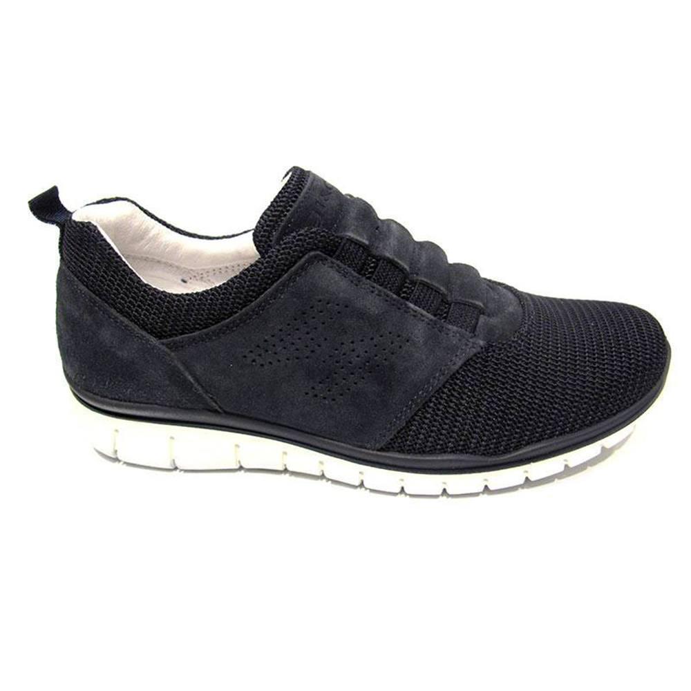 Sneaker-Uomo-Bassa-in-Camoscio-Blu-7694500-IgiCo