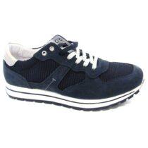 Sneaker-Uomo-Bassa-in-Camoscio-Blu-7713200-IgiCo