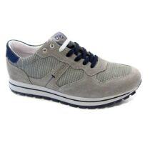 Sneaker-Uomo-Bassa-in-Camoscio-Grigio-7713300-IgiCo