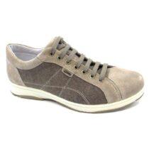 Sneaker-Uomo-Bassa-in-Tela-Tortora-7700500-IgiCo