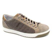 Sneaker-Uomo-Bassa-in-Tela-Tortora-7725700-IgiCo