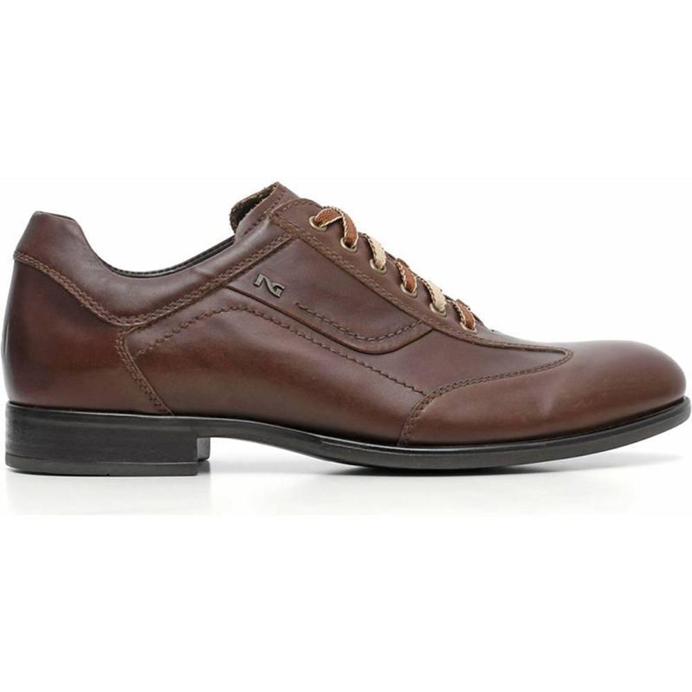 Sneaker-Uomo-Elegante-Marrone-A604561U-412-Nero-Giardini
