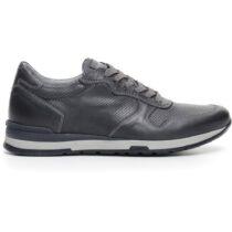 Sneaker-Uomo-in-Pelle-Blu-P704800U-200-Nero-Giardini