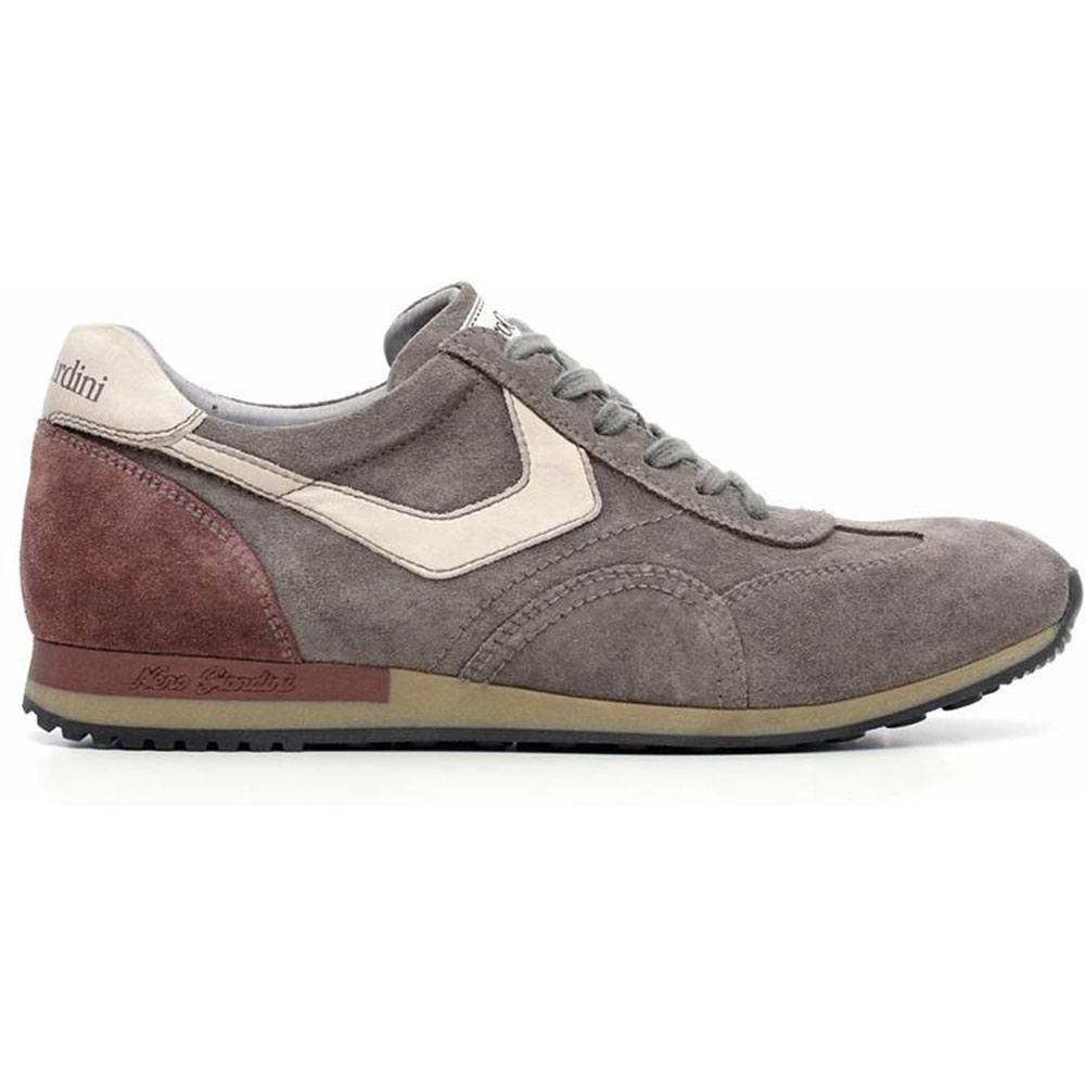 Sneaker-Uomo-in-Pelle-Grigia-A604470U-120-Nero-Giardini
