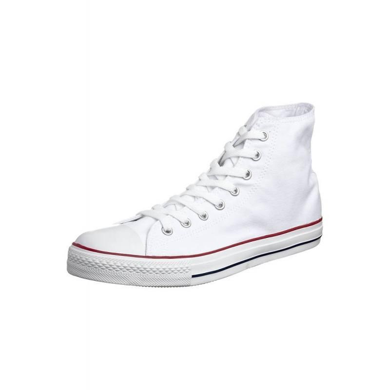 Sneaker All Star Alta Unisex Bianca M7650C Converse