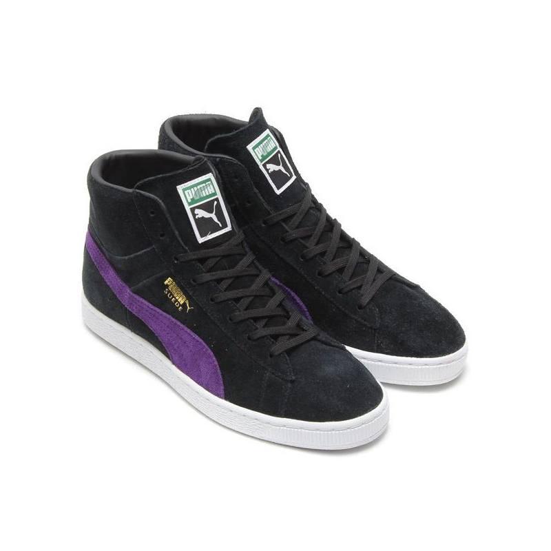 Sneaker Alta Unisex Nera 356340 10 Puma