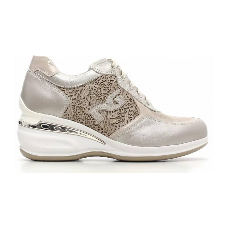 cefc9a77597d0 Fo Donna per Liquidazione NERO GIARDINI Scarpa con tacco in pelle con  cinturino. Tacco da 95. Sneaker