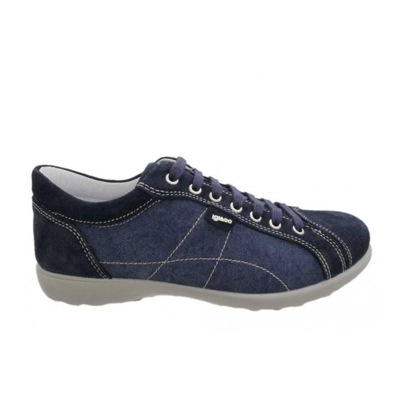 Sneaker-Uomo-Blu-37202-00---Ig&Co