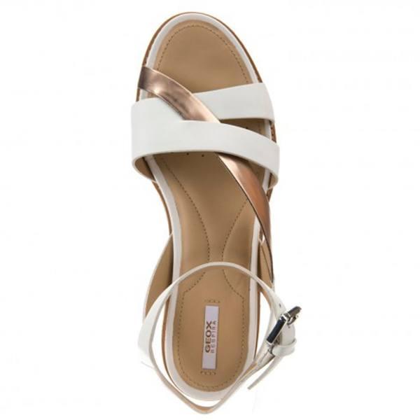 60899917e5ddf Sandalo Donna Darline Bianco D621YB 043BN C1ZH8 - Geox