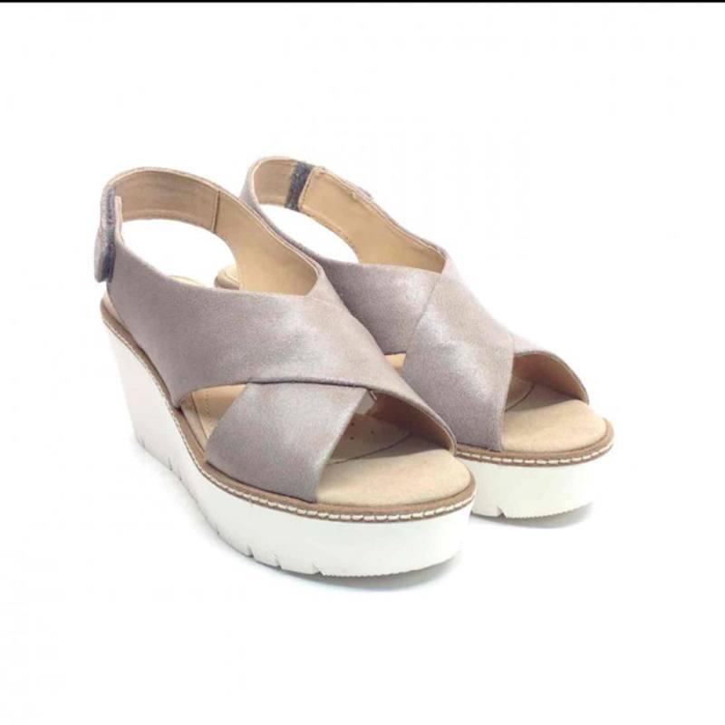 Sandalo Donna Domezia Grigio D621XA 000HM C9006 - Geox 310d7746342