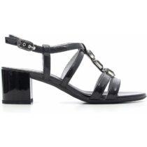 Sandalo-Donna-in-Tela-Nero-P615540D-100---Nero-Giardini