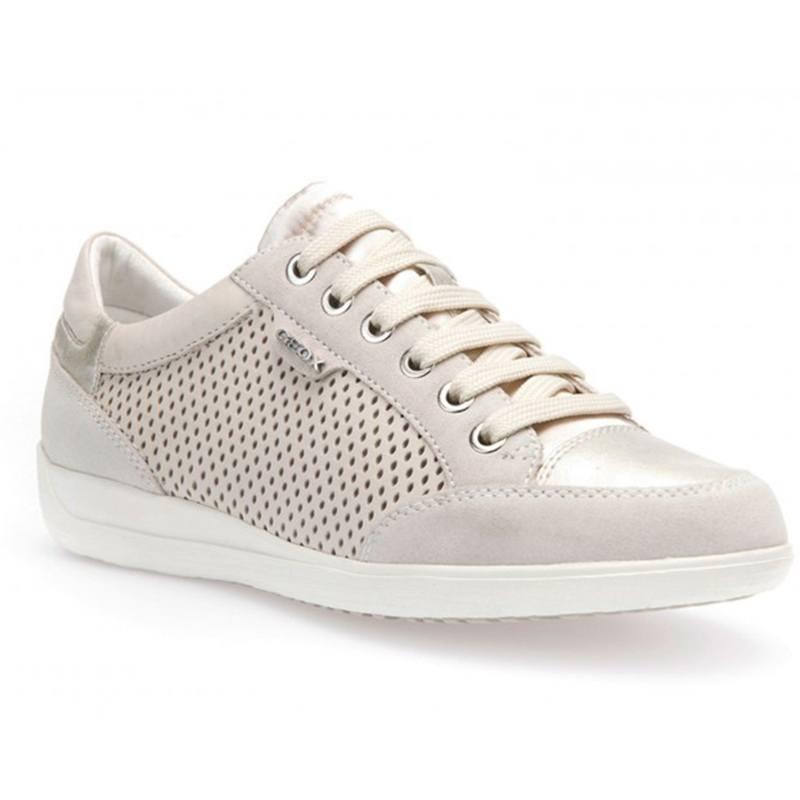 08522 C1002 Myria Donna D6268b Sneaker Bianca Geox ZikuOPTX