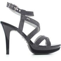 Sandalo-Donna-in-Tela-Nero-P615770DE-100---Nero-Giardini