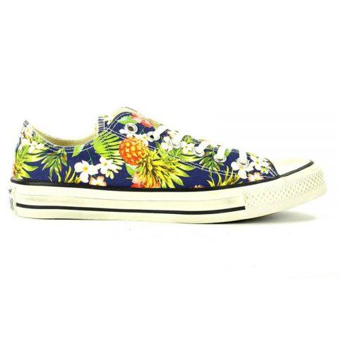 Sneaker-All-Star-Bassa-Fantasia-Fiori-152729C---Converse