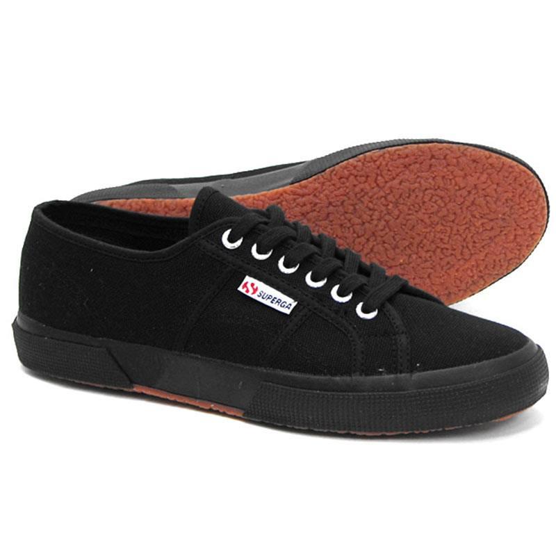 reputable site 4f30b 603f5 Dettagli su Sneaker Unisex Nera S000010 - Superga