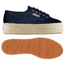 Sneaker-con-Zeppa-Blu-S0099Z0---Superga