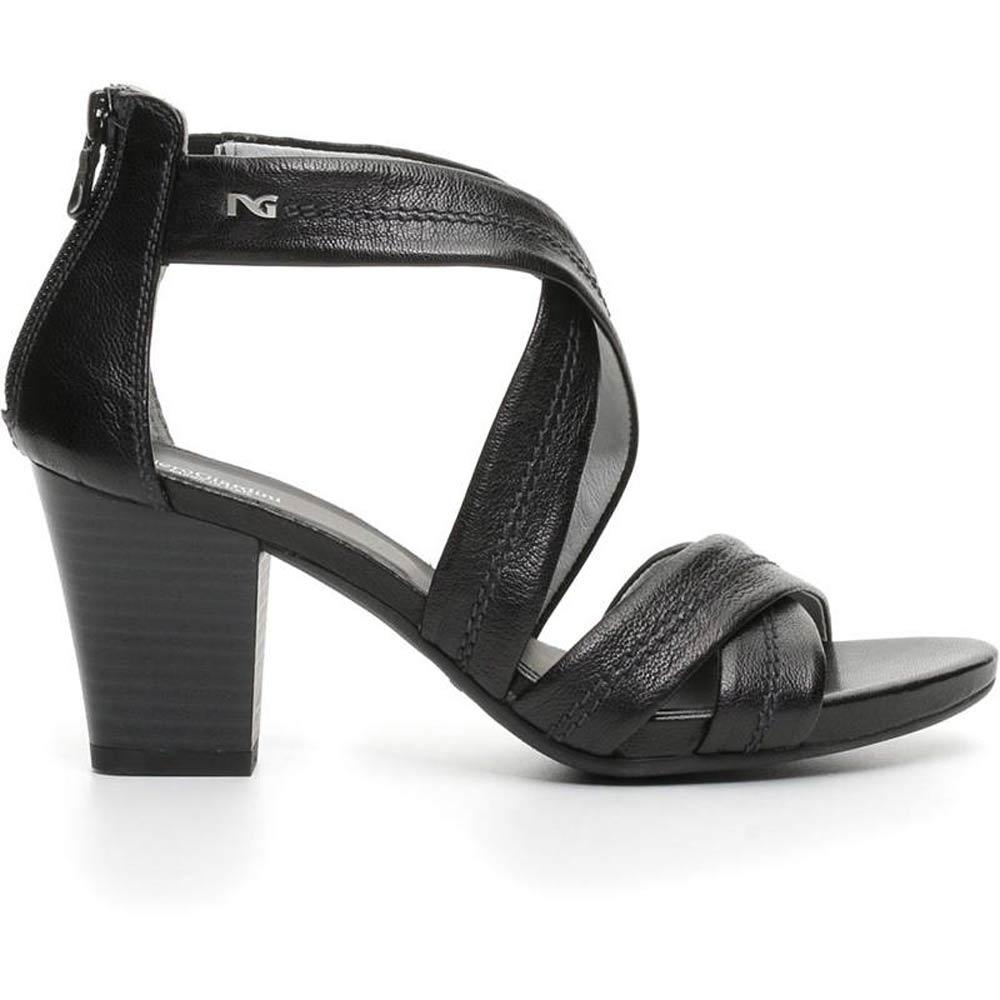 Sandalo tacco comodo NEROGIARDINI P717590D NUOVA COLLEZIONE estate