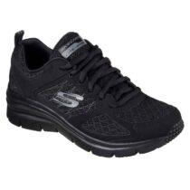 Scarpa Skechers Sneaker Donna Nera