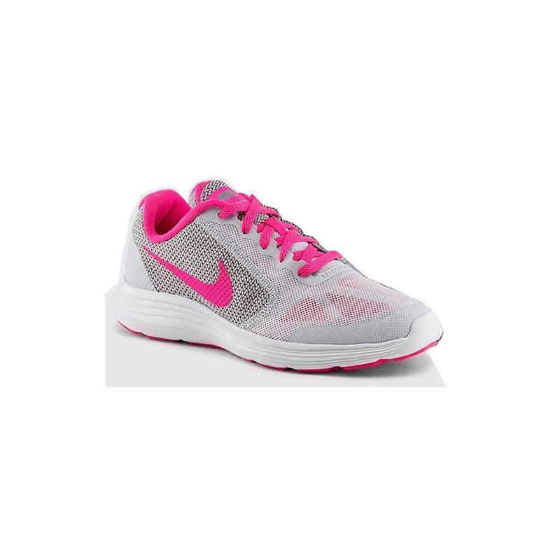 Sneaker Donna Revolution 3 GS Grigia Fucsia 819416007 Nike