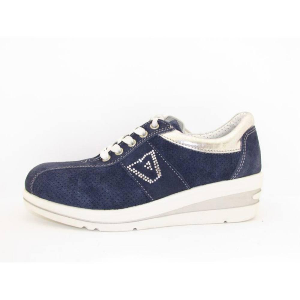 Scarpa Blu Valleverde Sneaker Valleverde Donna Sneaker Donna Scarpa Blu 1SfwxtqHx