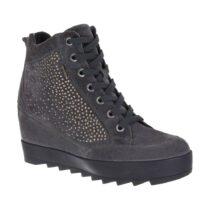 Sneaker Alta Donna Igi&Co Grigia in Camoscio - 8800100