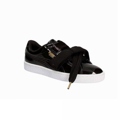Sneaker Bassa Donna Puma Nera con Lacci Grandi - 36307301