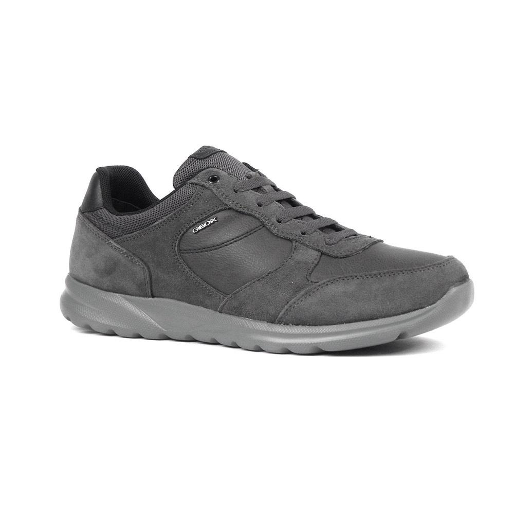 Sneaker Bassa Uomo Geox Grigia - U740HA 022ME C9004
