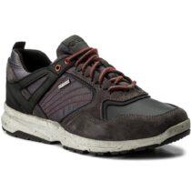 Sneaker Bassa Uomo Geox Nera - U742WA 022FU C9999