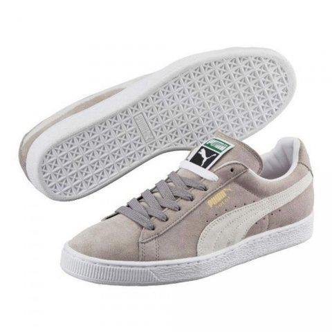 Sneaker Bassa Uomo Puma Grigia in Camoscio - 35263466