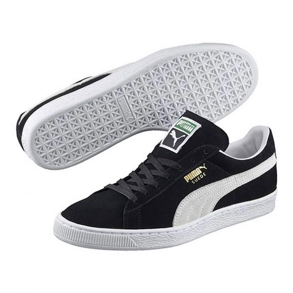 Sneaker Bassa Uomo Puma Nera in Camoscio 35263403