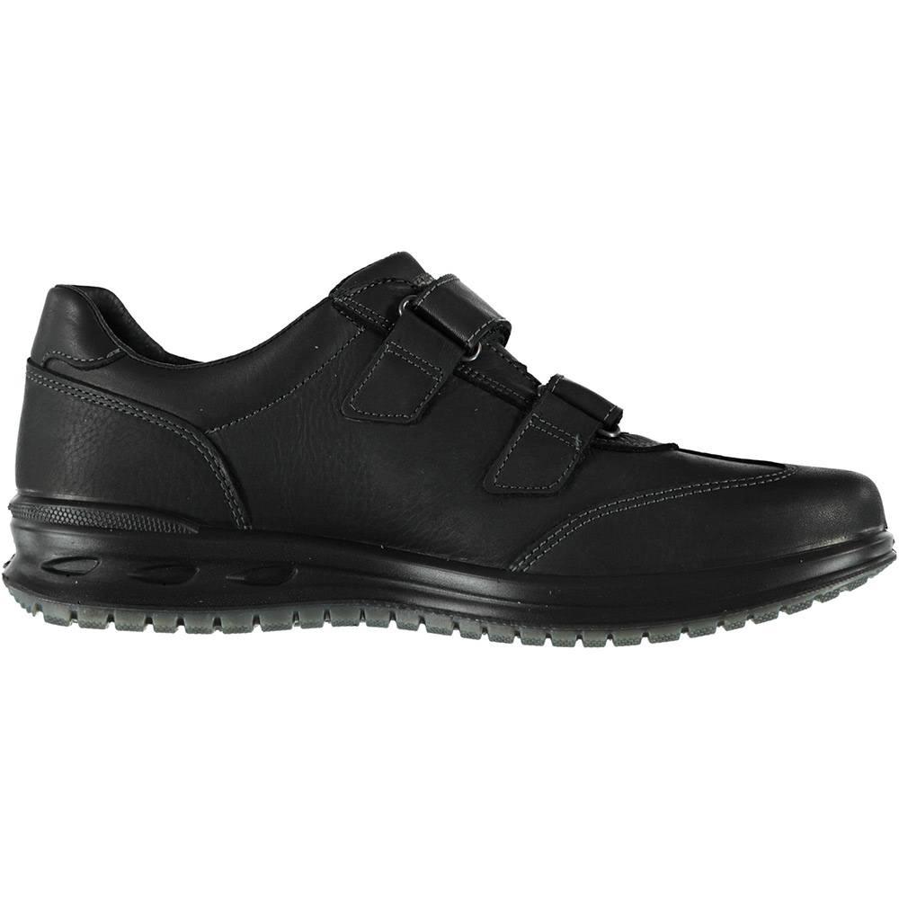 Sneaker Uomo Grisport in Pelle Nera - 43029