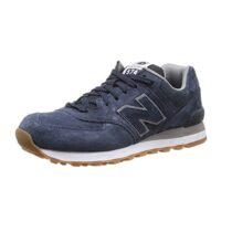 Sneaker Uomo New Balance Blu in Camoscio - NBML574FSN