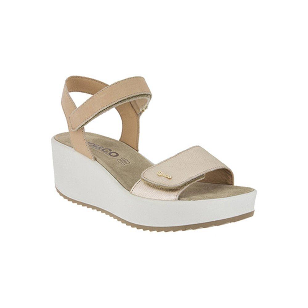 Sandalo Donna Igi&Co in Pelle Platino - 1176377