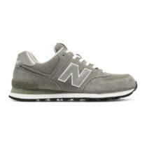 Sneaker Bassa Uomo New Balance in Camoscio Grigio - NBML574EGG