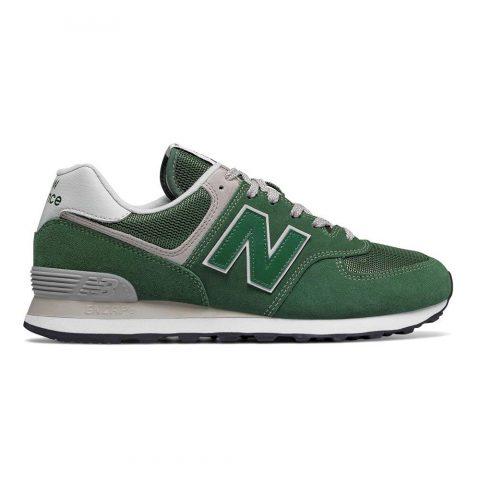 Sneaker Bassa Uomo New Balance in Camoscio Verde - NBML574EGR