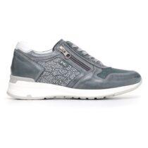 Sneaker Donna Nero Giardini in Camoscio Blu - P805053D205
