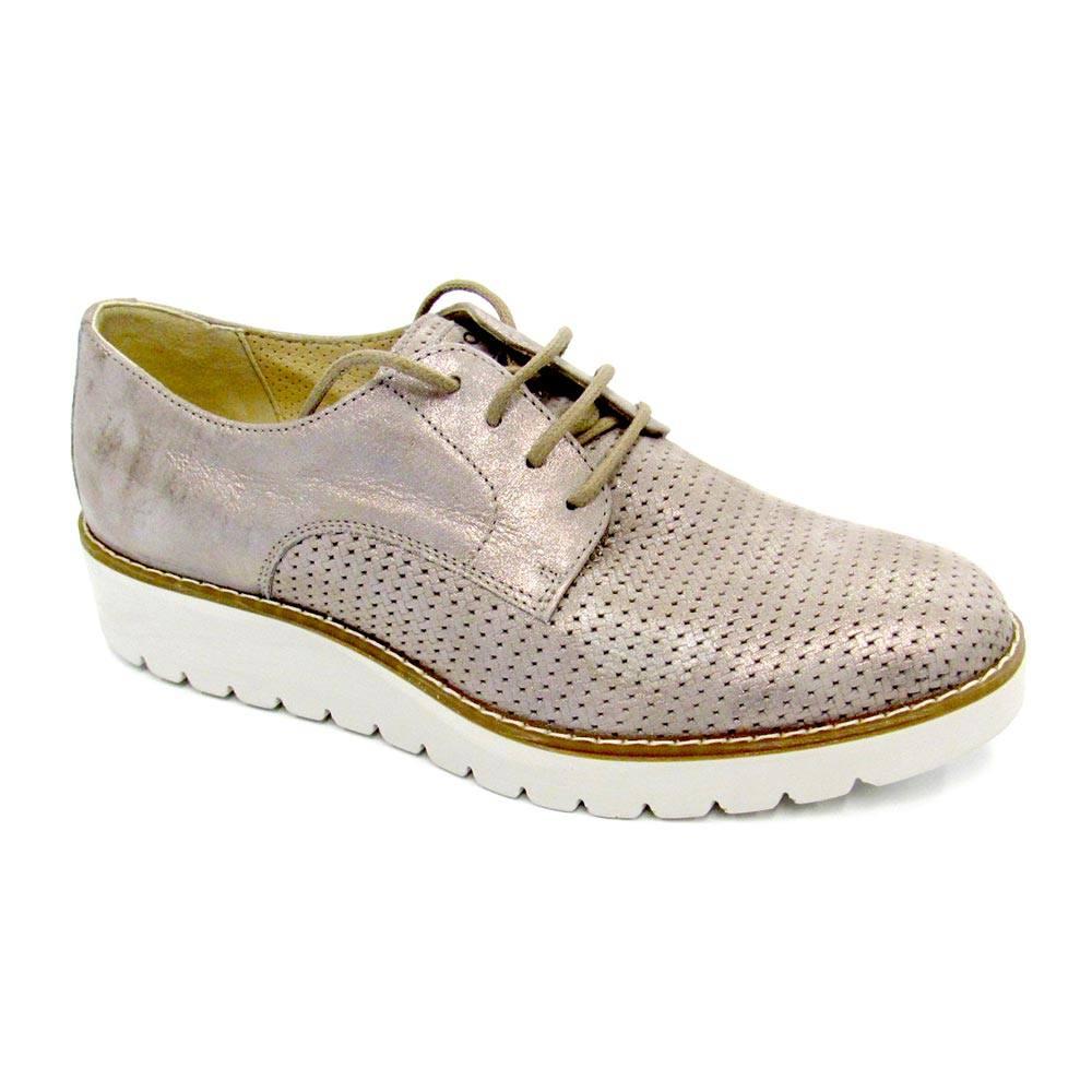 Sneaker Elegante Donna Igi Co in Pelle Grigia 3ba198a7b98
