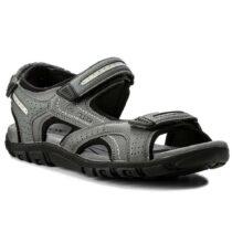 Sandalo Uomo Geox Strada Grigio - U8224D 0BC50 C9014