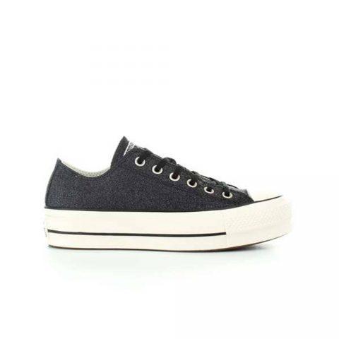 Sneaker All Star Player Bassa Donna Nera Converse - 561040C