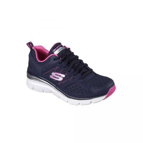Sneaker Donna Skechers in Tessuto Blu - 12713NVHP